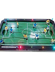Недорогие -пять ручки настольный футбол со светодиодной подсветкой и музыкой игрушки