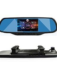"cheap -GT VIEW 5.0""Touch Android GPS Navigation Bluetooth WiFi 1080P Dual lens Rearview Mirror Dash Car DVR"