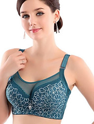 Full Coverage Bras, Underwire Bra Lace/Polyester
