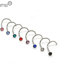 Body Piercing Jewellery Unisex's Nose Piercing Nose Rings & Studs Body Jewelry(Random Color) Christmas Gifts