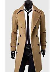 colar de lapela casaco de mama dupla masculina de moda masculina