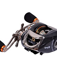 cheap -Tsurinoya 14 Bearings Baitcasting Fishing Reel  Two Brake Systems Right Hand Black Color