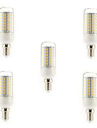 cheap -5W 450 lm E14 G9 E26/E27 LED Corn Lights T 56 leds SMD 5730 Warm White Cold White AC 220-240V