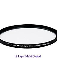 tianya® 37 milímetros mc uv ultra slim xs-Pro1 digitais filtro UV-revestimento muti para Sony 1500C lente Olympus 14-42mm
