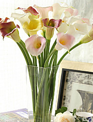 cheap -Plastic Calla Lily Artificial Flowers