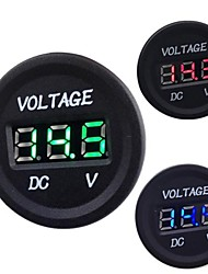 cheap -Automobile Motorcycle DC 12V to 24V LED Digital Voltmeter