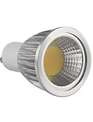 abordables -5.5w gu10 llevado proyector mr16 1 cob 500-550 lm caliente blanco dimmable ac 220-240 v