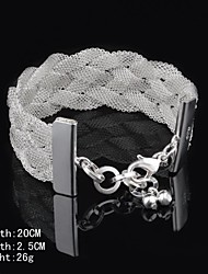 Bracelet (Argenté) Manchette - pour Femme