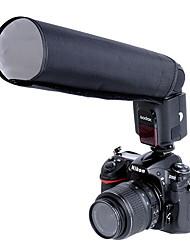 godox® snoot pliable pour appareil photo (noir)