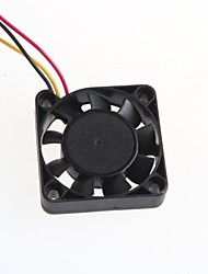 cheap -4010S Two-Core Wiring Cooling Fan 4X4cm For PC Chassis CPU