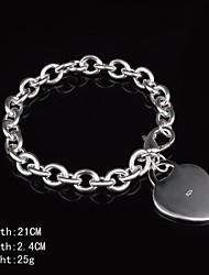bracelet en argent sterling mode féminine style féminin classique