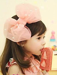 cheap -Girls' Hair Accessories, All Seasons Lace Headbands - Pink