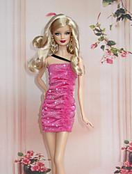 Stile Principessa Costumi Per Bambola Barbie Abiti Per Ragazza Bambola giocattolo
