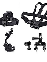 cheap -Chest Harness Front Mounting Suction Cup Accessory Kit For Gopro Mount / Holder For Action Camera All Gopro Gopro 5 Gopro 4 Session Gopro