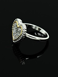 cheap -Women's Couple Rings - Alloy Fashion 6 / 7 / 8 Silver For Wedding Party Engagement