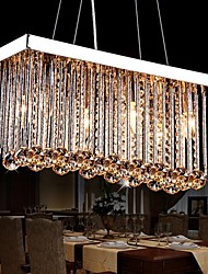 cheap -6-Light Crystal Chandelier Downlight - Crystal, 110-120V / 220-240V Bulb Not Included / 30-40㎡ / E12 / E14