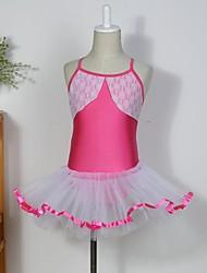 Abbigliamento da ballo per bambini Abiti / Gonne / Tutù Per bambini Cotone / Elastene / Tulle Senza maniche