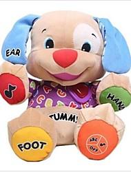 Недорогие -музыка собаки детские игрушки музыкальный плюшевые электронные игрушки собака поет песен на английском