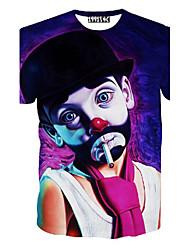 povoljno -Majica s rukavima Muškarci-Chic & Moderna Likovi iz crtića Moderna