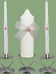 Tema Jardim Favores da vela Piece / Set Velas Não-Personalizado Branco