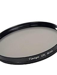 tianya® 52 millimetri CPL filtro polarizzatore circolare per Nikon D5200 D3100 D5100 D3200 lente 18-55mm