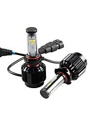 cheap -CONQUER® 2PCS  30W 3000Lumens  9006 High Power High Brightness  LED Headlight for Car