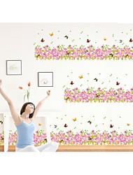 decalques de parede adesivos de parede, parede estilo cerca de PVC adesivos