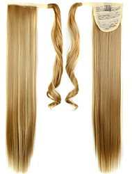 cheap -Classic Straight Ponytails High Quality Synthetic Hair Piece Hair Extension Daily
