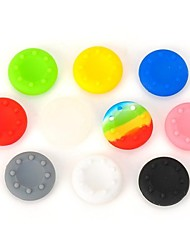 baratos -Apertos 10pcs thumbsticks joystick para PS3 / PS2 / Xbox 360 (multicolorido)