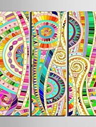 e-Home® tela sei il modello di colore set pittura decorativa di 3