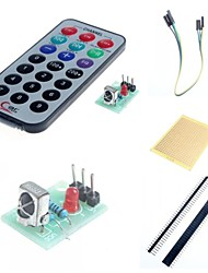 IR Receiver Module Wireless Remote Control Kit for  and Accessories for Arduino