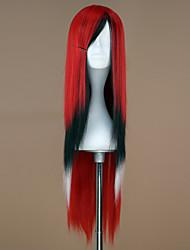 abordables -Pelucas Lolita Punk Gradiente de Color Peluca de Lolita  75 CM Pelucas de Cosplay Retazos Pelucas Para