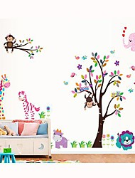 cheap -Decorative Wall Stickers - Plane Wall Stickers Animals / Still Life / Fashion Living Room / Bedroom / Boys Room