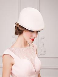 economico -cappellino in tulle di lana elegante stile classico femminile