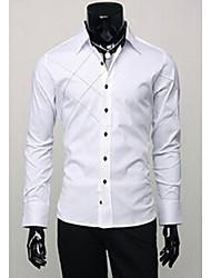 economico -MEN - Camicie casual - Bodycon Misto cotone