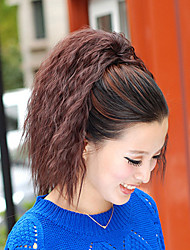 High Quality Fashion Beautiful Brown Tiger Hot Corn Clip Ponytail