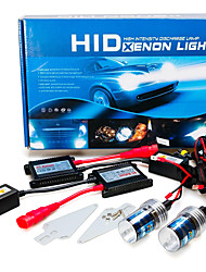 2 pcs H7 12V 55W AC Car Hid Xenon Headlight Bulb 12000K with Replacement Slim Ballast Kit