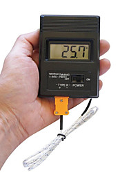 "cheap -Portable 2"" Screen Digital LCD Thermometer Thermodetector Meter -50°C-1300°C  (1 x 9V Battery)"