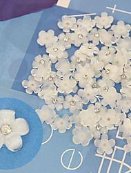 10 - Gioielli per unghie - Fiore/Matrimonio - Dito/Dito del piede - di Plastica/Altro - 7X4X0.5