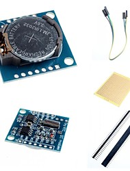 cheap -I2C DS1307 Real Time Clock Module Tiny RTC 2560 UNO R3 and Accessories for Arduino