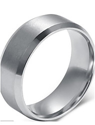 cheap -Men's Statement Ring - Sterling Silver Fashion 7 / 8 / 9 For Christmas Gifts / Wedding / Party
