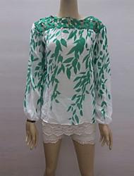 abordables -todo camisa de gasa de impresión a juego de los Cocos zhang mujeres