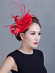 femmes mariage partie sinamay plume fascinateurs style élégant sfc12370