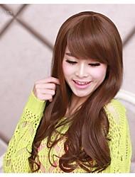 cheap -South Korea fashion big brown wavy curly hair