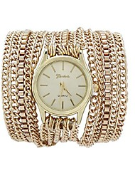 cheap -Fashion Women's Watch Long Chain Around Three Times Alloy Band Cool Watches Unique Watches