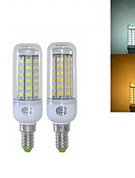 5W E14 LED Corn Lights T 56 SMD 5730 450 lm Warm White Cold White 2800-3200/6000-6500 K AC 220-240 V