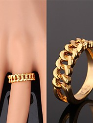 cheap -Women's Band Ring - Gold Plated, Alloy Fashion For Wedding / Party / Daily / Casual / Sports