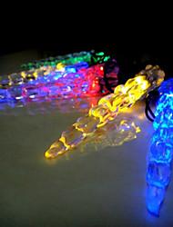 Недорогие -6м Гирлянды 30 светодиоды Разные цвета Водонепроницаемый / Работает от солнечной энергии / Декоративная Солнечная энергия 1 комплект