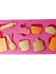 cheap -Silicone Mould Kitchen Utensils Cupcake Top Mould