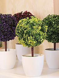 abordables -Une succursale Plastique Plantes Fleur de Table Fleurs artificielles 26 x 13 x 13(10.24'' x 5.12'' x 5.12'')